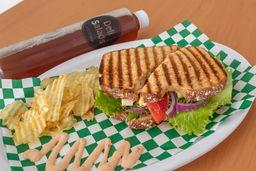 Sándwich de Pavo + Bebida