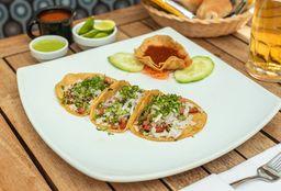 Tacos de Suadero de Atún