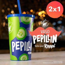 2x1 Vaso Pepillin 32oz