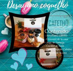 Desayuno Coquetho!!!!❤❤❤😉