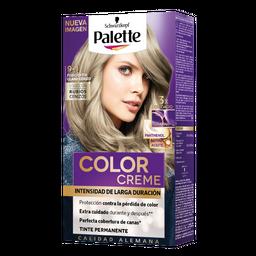 Tinte Palette Creme Color Rubio Extra Claro Cenizo 1 U