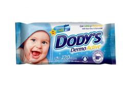 Toallitas Dody's Dermo Active Para Bebé Hipoalergénicas 120 U
