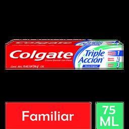 Pasta Dental Colgate Triple Acción 75 mL