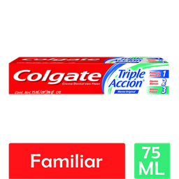 Pasta Dental Colgate Triple Acción 75 mL
