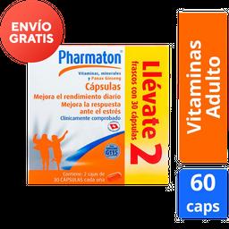 Pack Pharmaton 30 Cápsulas + Pharmaton 30 Cápsulas
