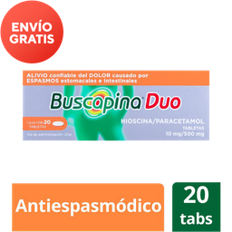 Buscapina Duo (10 Mg/500 Mg)