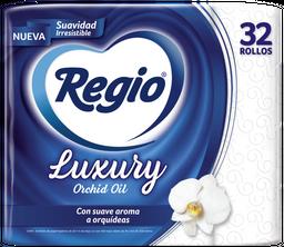 Regio Papel Higienico Luxury Orchid Oil 32 Rollos
