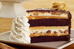 Reeses® Peanut Butter Chocolate Cake Cheesecake