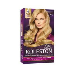 Tinte Wella Koleston en Crema Rubio Claro