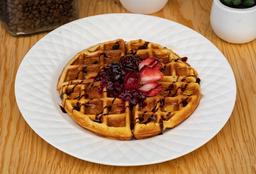 Waffle con Harina Clásica