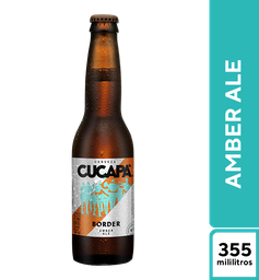Cerveza Cucapá Ambar 355 ml