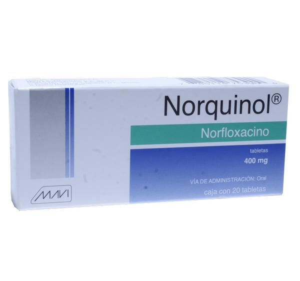 Comprar Norquinol (400 Mg)