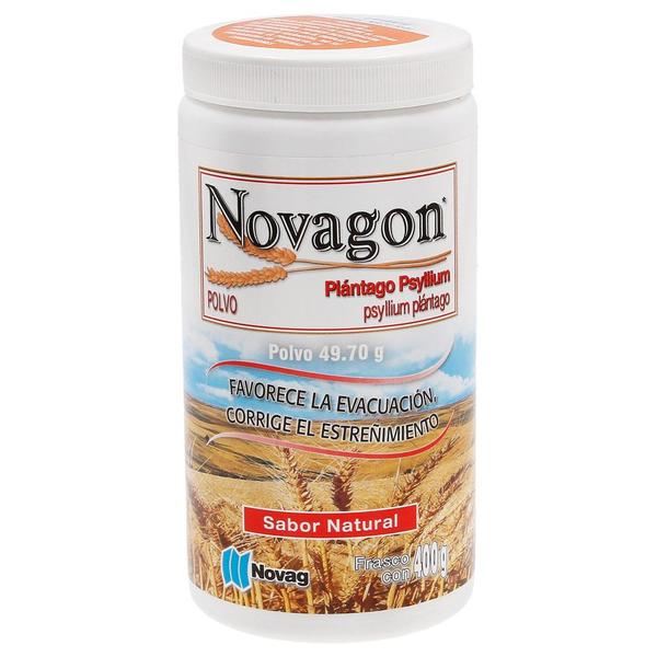 Comprar Novagon Fibra Plantago Psyllium Sabor Natural