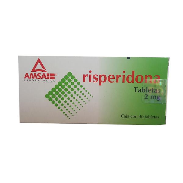Comprar Gpp Amsa Risperidona 2 Mg