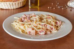 Spaghetti a la Crema