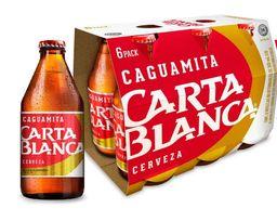 Carta Blanca Cerveza Six Pack
