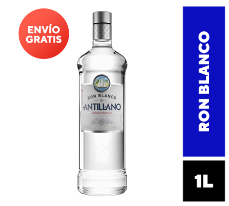 Ron Antillano Blanco Botella 1 L