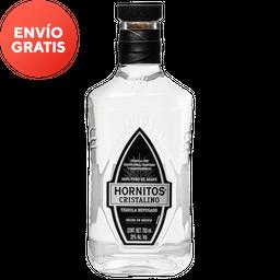 Tequila Hornitos Cristalino 750 mL.
