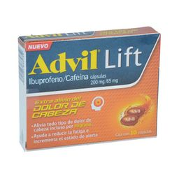 Advil Lift (200 Mg/65 Mg).