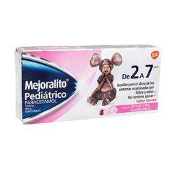 Paracetamol Tabletas Mejoralito