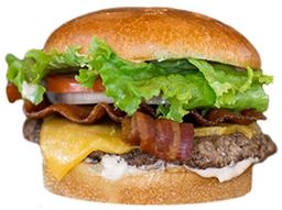 Hamburguesa Bacon Cheddar