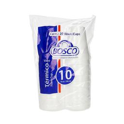 Vaso Térmico Bosco 10 Oz 20 U