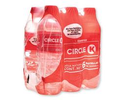 Agua Natural Circulo 500 mL x 6