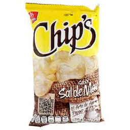Papas Chip's Sal 170 g