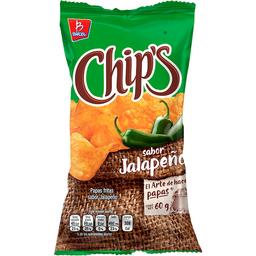Papas Chip's Jalapeño 60 g