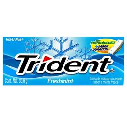 Chicle Trident Tibra 18's Freshmint 30.6 g