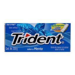 Chicle Trident Tibra 18's Menta 30.6 g