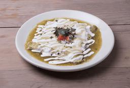 Enchiladas Verdes con Pollo