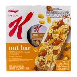 Barra Special K Nut Caramelo Canela 5 U