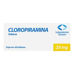 Cloropiramina 25 Mg Gi