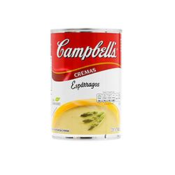 Campbells Crema de Espárragos