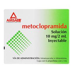 Comprar Metoclopramida 10 Mg Amp Sol C6 Gi