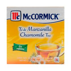 Mccormick Té De Manzanilla