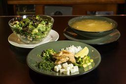 Paquete Sopa, Ensalada y Sándwich