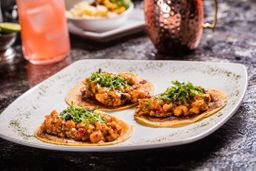 Tacos de Pulpo Bañado
