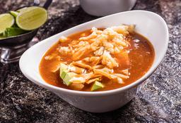 Sopa de Tortilla Sonorense
