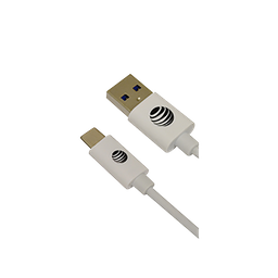 Cable Tipo C 2M Color Blanco Marca AT&T