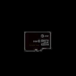Memoria de 8 GB Marca AT&T