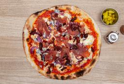 Pizza Rústica Grande + 2 Refrescos