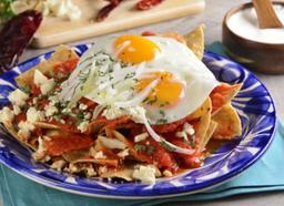 Chilaquiles con Dos Huevos