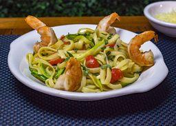 Tagliatelle Gamberi Zucchini