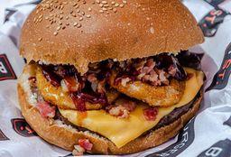 Texana Burger + Papas + Pepsi 355 ml