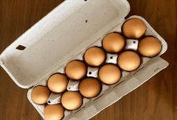 Huevos 12 piezas