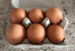 Huevo 6 piezas