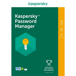 Licencia Kaspersky Cloud Password Manager 1 Usuario 1 Año