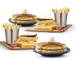 Paquete Familiar Ham & Egg Melt  Original Buttermilk Pancakes